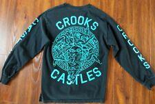Crooks & Castles Long Sleeve Shirt Men's Size Medium M