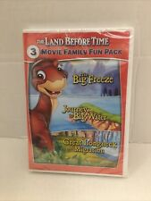 The Land Before Time * 3-Movie Family Fun Pack * 8-9-10 / VIII-IX-X * DVD NEW