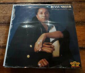 BUNNY SIGLER - I'VE ALWAYS WANTED TO SING LP SSLP 1512 SALSOUL 1979 VG+!