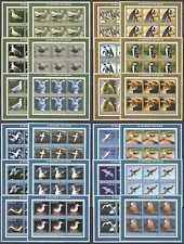 J1410 2002 MOZAMBIQUE FAUNA WATER BIRDS SEAGULLS PIGEONS PENGUINS !!! 4*6SET MNH