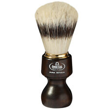 Omega 11126 Ovangkol Wood Banded Boar Shaving Brush