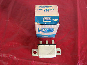 60 LINCOLN NOS HEATER FAN RELAY C0LF-18A656-A