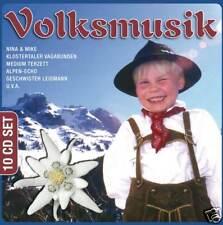 10 CD DEUTSCHE VOLKSMUSIK / DEUTSCHE VOLKSLIEDER COLLECTION (BOX-SET)