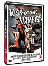 KISS OF THE VAMPIRE (1963 Clifford Evans)  - DVD - REGION 2 UK