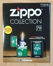 Original Zippo Collection Sturmfeuerzeug Nr.79 Am. Football (1972)Sammlung OVP