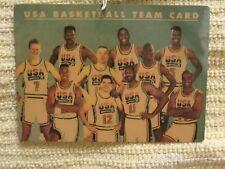 1992 Skybox USA Basketball Plastic Card NNO (Jordan, Magic, Pippen, Bird, etc)