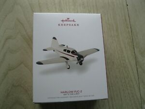 2018 Hallmark Ornament - Harlow PJC-2 Airplane - Sky's The Limit Series 22nd New