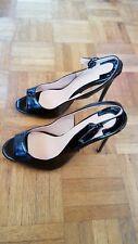 women shoes Chmile CHAU Black Pearl Women Shoes Stiletto Heel Black stap