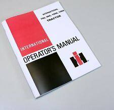INTERNATIONAL FARMALL 766 966 1066 1466 TRACTOR OWNERS OPERATORS MANUAL MAINTAIN