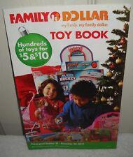 #9664 Family Dollar Stores 2011 Holiday Toy Catalog