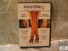 Secretary (DVD, 2003) James Spader Maggie Gyllenhaal