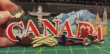 New 3D Canada by Jolee's Boutique layered paper - Beaver, Hockey & Maple Leaf ++