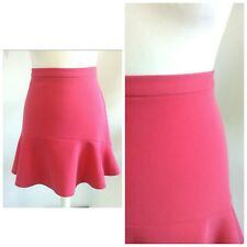 River island retro pin up vintage sexy peach coral skirt 18