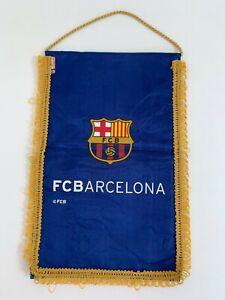 Vintage F.C Barcelona Pennant Flag, Barcelona Club, Vintage Pennant Banner, Coll