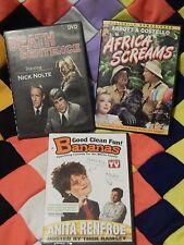 Death Sentence + Africa Screams + Anita Renfroe (DVDs x 3) Variety Lot - F. SHIP