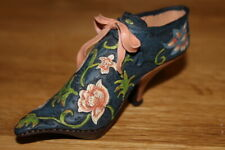 "Just The Right Miniature Shoe "" Versailles"" Willitts Design item #25021 in box"