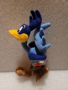 1999 Warner Brothers Looney Tunes Mini Bean Bag Plush Road Runner