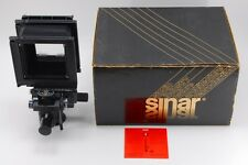 【RARE UNUSED in BOX】 SINAR F2 4x5 Large format Film Camera Body From Japan #1674