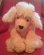 "SOFT Pink Plush Poodle 11.5""  Mary Meyer ""SWEET RASCALS"" Series"