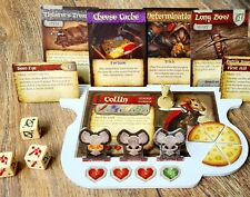 Mice and Mystics expansion/dashboard/tray Set of 4 - Not Painted