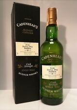 DALLAS DHU 1977 CADENHEAD'S CASK STRENGHT SINGLE MALT SCOTCH WHISKY (VINT. 90'S)