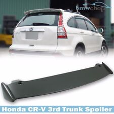 Unpainted For Honda CR-V CRV Mugen Type Rear Trunk Spoiler Wing 3rd