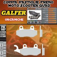 FD187G1054 PASTIGLIE FRENO GALFER ORGANICHE POSTERIORI BAROSSA 150 MAGNA 03-