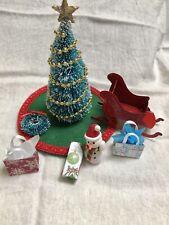 Miniature Dollhouse Christmas Lot 1:12