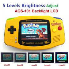 5 Levels Brightness Game Boy Advance Console AGS-101 Backlight LCD - Pokemen