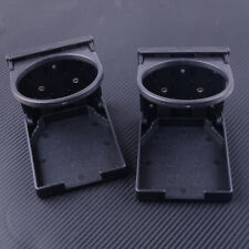 2x Universal Folding Car Seat Cup Drink Bottle Holder Pocket Storage Organizer