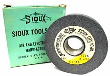 "SIOUX TOOLS INC. K55AA VALVE SEAT GRINDING WHEEL, 3 1/16""-45-FIN, MAX RPM 7094"
