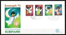 Suriname - 1993 Christmas -  Mi. 1457-60 clean FDC