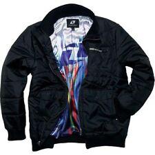One Industries Mens Wooly Jacket Black Long Sleeve MX ATV Motocross 2XL