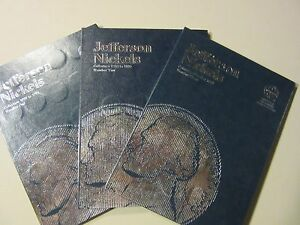"JEFFERSON NICKEL SET ""COMPLETE"" 1938-2015 PDS 174 COINS new folders * BU 50-D *"