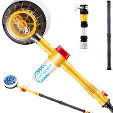 Automotive Spiffy Extendable Pole Revolving Care Washing Brush Sponge Cleaning