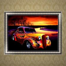 Car Design 5D Diamond Embroidery Painting DIY Cross Stitch Craft Home Decor