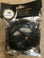 2 METRE DISPLAY PORT TO HDMI CABLE-NEW