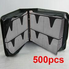 Borsa Porta 500 posti raccoglitore per CD DVD valigetta cartella archiviazione