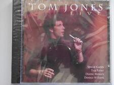 Tom Jones Live. CD Album. (L06)