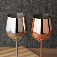 500ml Stainless Steel Red Wine Glass Goblets Bar Party Juice Drink Champagne Cup