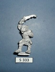 Warhammer Citadel Metal REALM OF CHAOS 0205 BEASTMAN 1988 CAT. S 333
