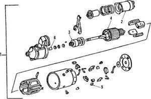 Genuine GM Starter Motor 10465394
