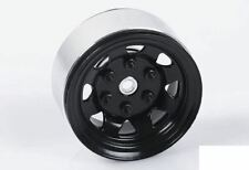 """Stamped Steel Single 1.55"""" Stock Black Beadlock Wheel Z-Q0008 RC4WD Spare rcBits"""