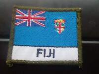 Australian Defence Force Academy ADFA Cadets Flag patch Fiji (Lot 244)