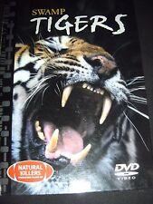 Swamp Tigers Natural Killers Predators Close-Up DVD and Booklet