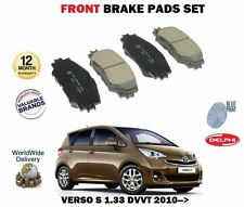 FOR TOYOTA VERSO S 1.33 VVTI 2010-> NEW FRONT BRAKE DISC PADS SET