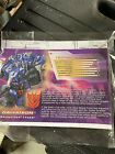 Botcon shatter glass Reformatted Megatron  Know As Galvatron W Instructions