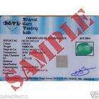 BGTL Gemstone Identification Brief Report With Stone Photograph