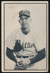 #64 ANDY HANSEN 1953 Bowman Baseball Black White PHILADELPHIA PHILLIES