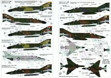 NEW 1:72 Xtradecal X72072 USAFE UK based McDonnell F-4 Phantoms